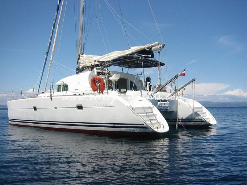 Sail Catamaran Croatia on Lagoon 380 with Europe Yachts ...