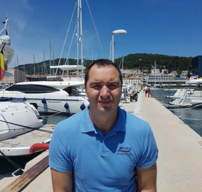 Josko Poljak Marketing Manager and founder of Globe Yachting and Cro Sailing