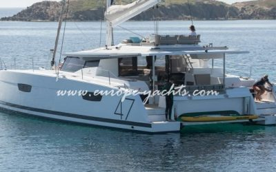 Fountaine Pajot Saona 47 for rent in Croatia with Europe Yachts Charter