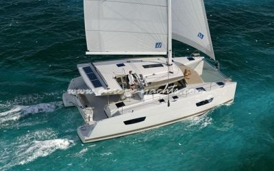 Fountaine Pajot Lucia 40 for rent in Croatia with Europe Yachts Charter - Catamaran Charter Croatia