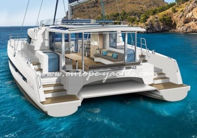 Bali 5.4 for rent in Greece with Europe Yachts Charter - Catamaran Charter Greece