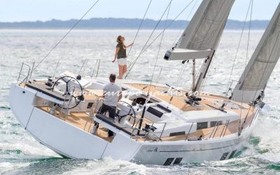 Hanse 548 for rent in Croatia with Europe Yachts Charter - Sailing Boat Charter Croatia
