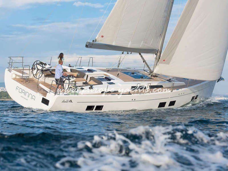 Hanse 588 for rent in Croatia with Europe Yachts Charter - Sailing Boat Charter Croatia