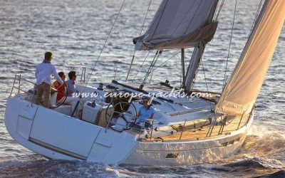 Jeanneau Sun Odyssey 519 for rent in Croatia with Europe Yachts Charter - Sailing Boat Charter Croatia